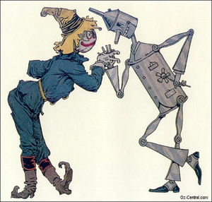 Scarecrow   tin man